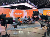 Image 1 of Dr. Downie at The Today show for Melanoma discussion