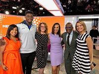 Image 6 of Dr. Downie at The Today show for Melanoma discussion
