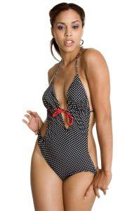 Lady on swimwear