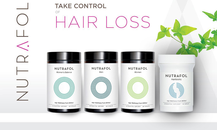 Take control of hair loss with Nutrafol
