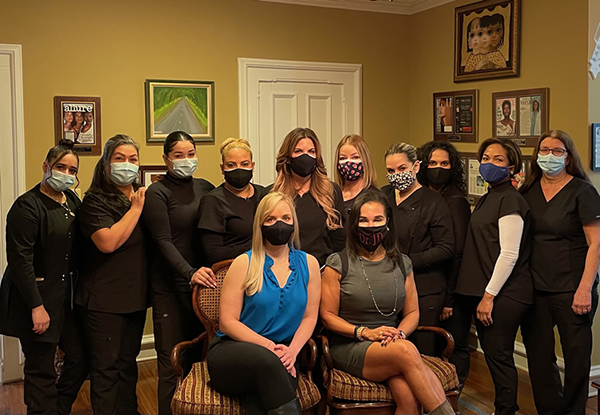 The Image Team, Dr. Downie with her team